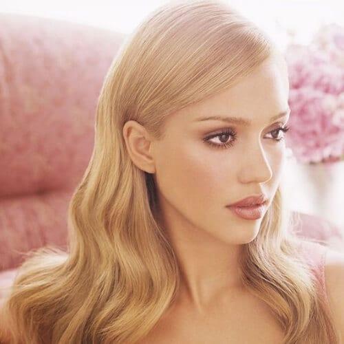 jessica alba blonde hairstyles