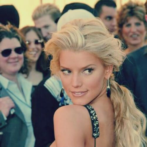 jessica simpson blonde hairstyles