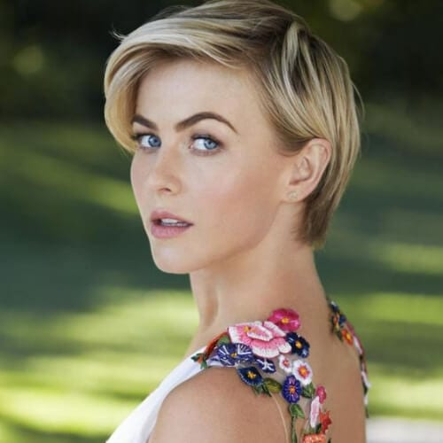 julianne hough blonde hairstyles