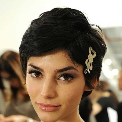 long pixie cut prom hairstyles for short hair