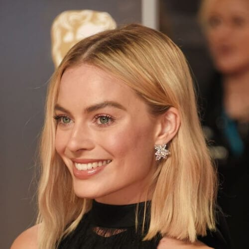 margot robbie blonde hairstyles