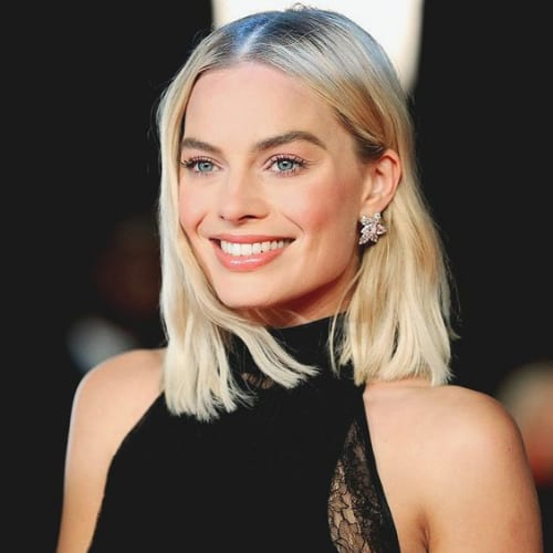 margot robbie prom hairstyles for short hair