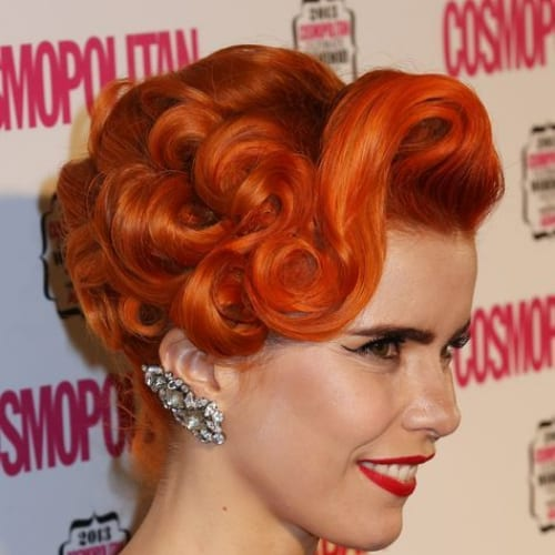 paloma faith prom hairstyles for short hair