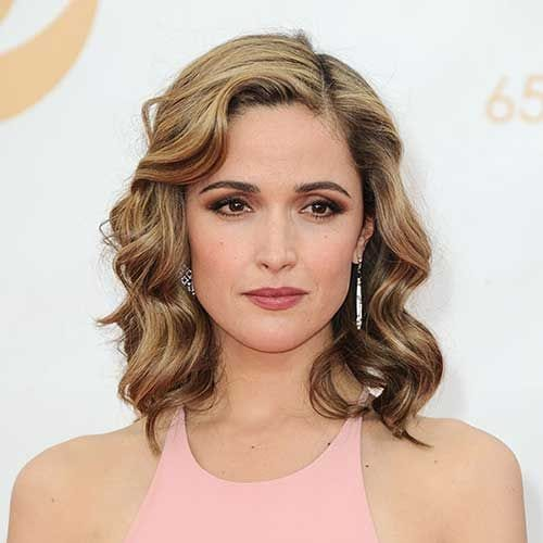rose byrne prom hairstyles for short hair