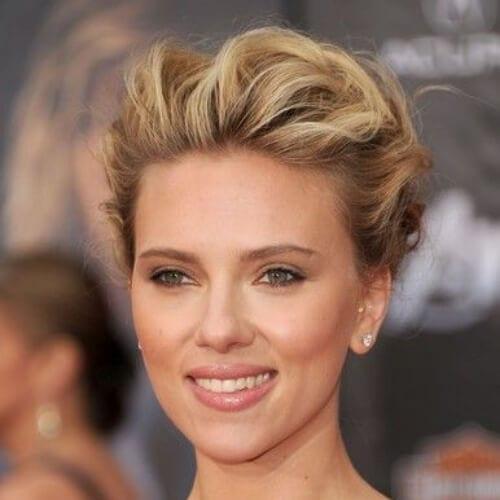 scarlet johansson blonde hairstyles