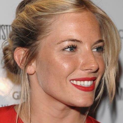 sienna miller blonde hairstyles