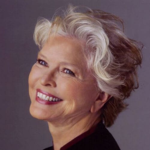Ellen Burstyn mother of the bride updos
