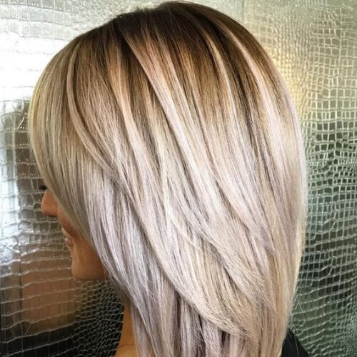 Mid Length Layered Hairstyles For Thick Hair 23