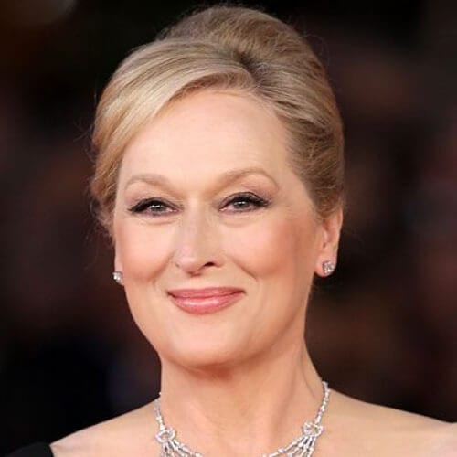 Meryl Streep mother of the bride updos