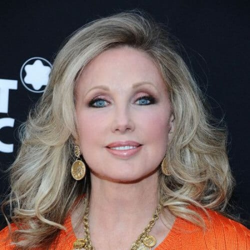Morgan Fairchild mother of the bride updos