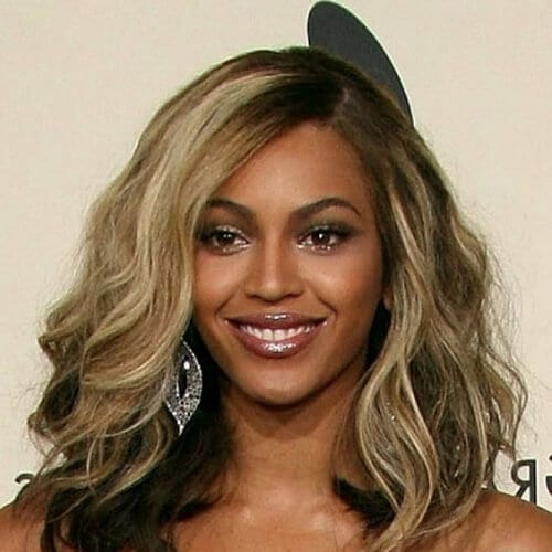 beyonce medium length haircuts for thick hair
