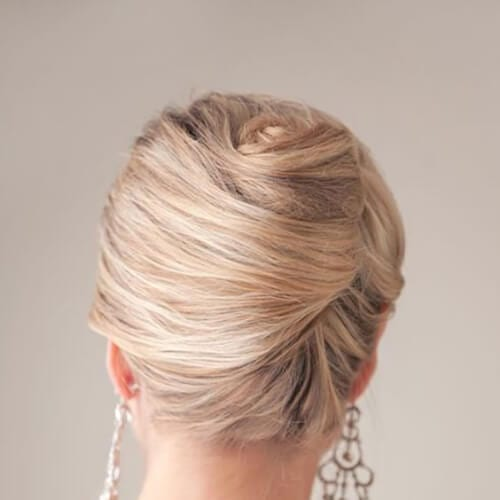 chignon mother of the bride updos