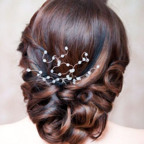 embellishment mother of the bride updos