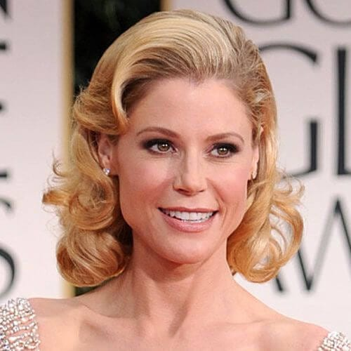 julie bowen mother of the bride updos