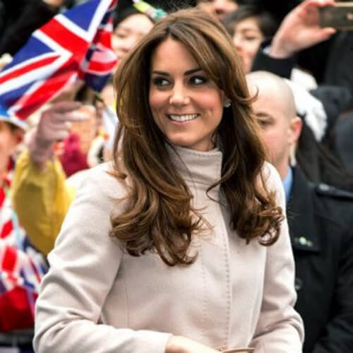 kate middleton medium length haircuts for thick hair