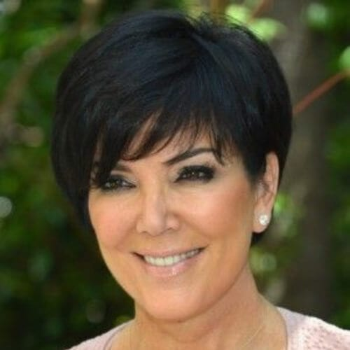 kris jenner mother of the bride updos