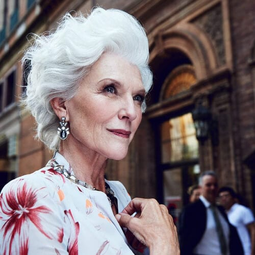 maye musk mother of the bride updos