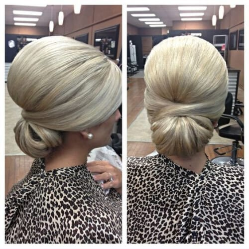 mother of the bride updos