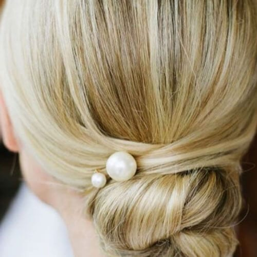 pearl mother of the bride updos
