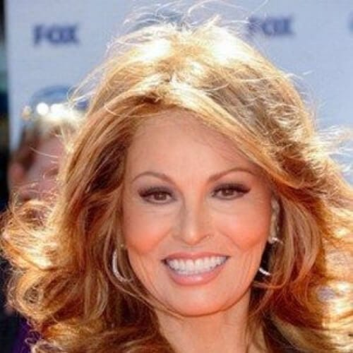 raquel welch mother of the bride updos