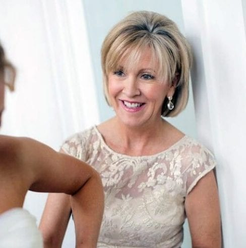 stylish mother of the bride updos