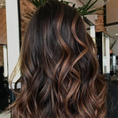 50 Intense Dark Hair With Caramel Highlights Ideas All Women Hairstyles