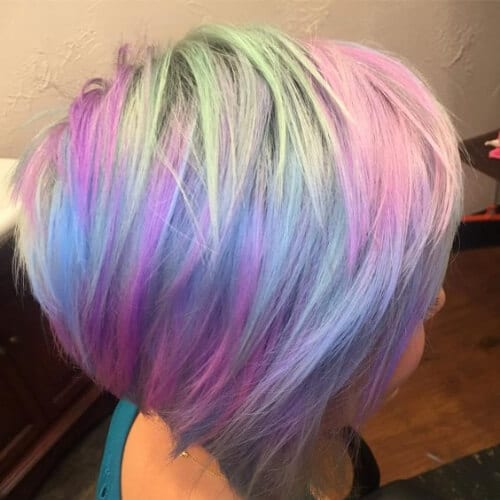 opal hair stacked bob haircut