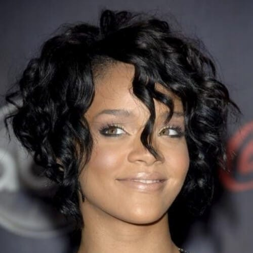 rihanna stacked bob haircut