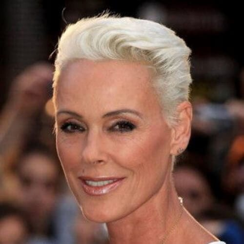 Brigitte Nielsen best hairstyles for women over 50