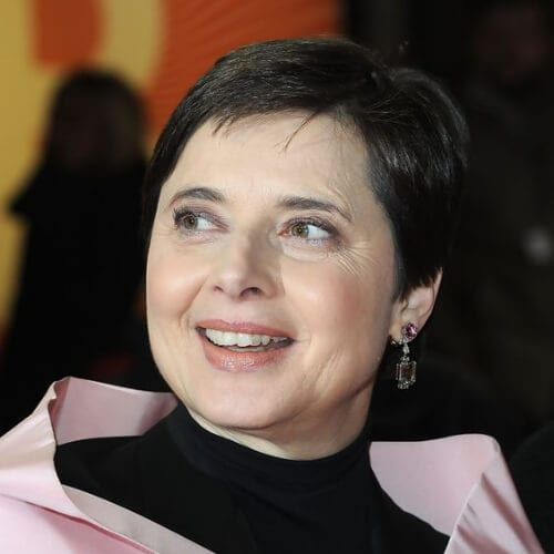 Isabella Rossellini best hairstyles for women over 50