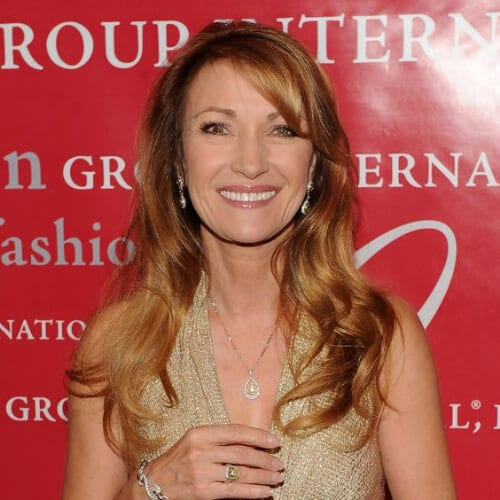 Jane Seymour strawberry hair best hairstyles for women over 50