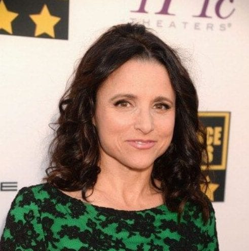 Julia Louis Dreyfus best hairstyles for women over 50