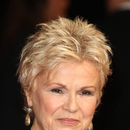 Julie Walters best hairstyles for women over 50