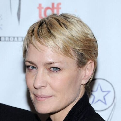 Robin Wright - House of Cards best hairstyles for women over 50