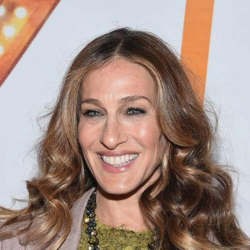 Sarah Jessica Parker Long Wavy Cut best hairstyles for women over 50