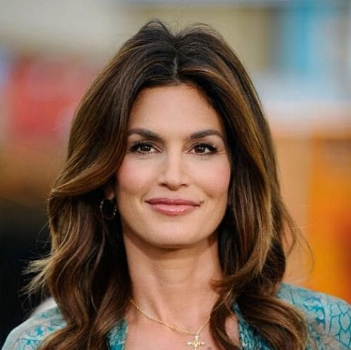 cindy crawford best hairstyles for women over 50 52