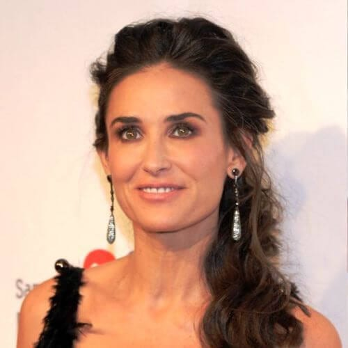 demi moore best hairstyles for women over 50