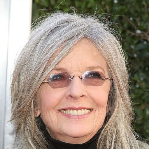 diane keaton best hairstyles for women over 50