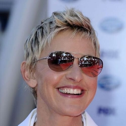 ellen best hairstyles for women over 50