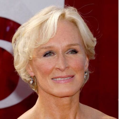 glenn close best hairstyles for women over 50