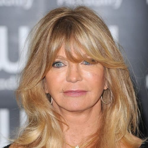 goldie hawn best hairstyles for women over 50