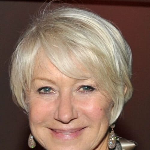 helen mirren best hairstyles for women over 50