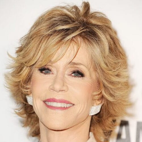 jane fonda best hairstyles for women over 50