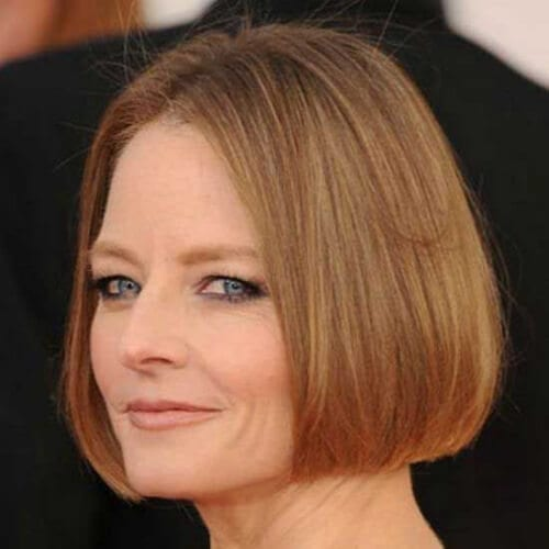 jodie foster best hairstyles for women over 50