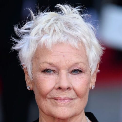 judi dench best hairstyles for women over 50