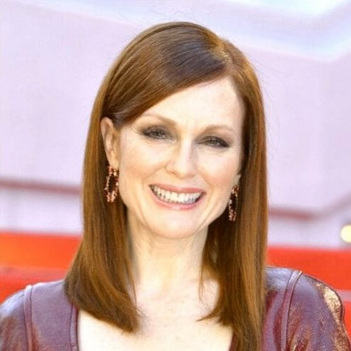 julianne moore best hairstyles for women over 50