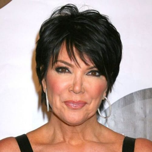 kris jenner best hairstyles for women over 50