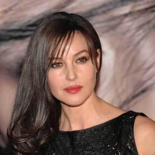 monica bellucci best hairstyles for women over 50
