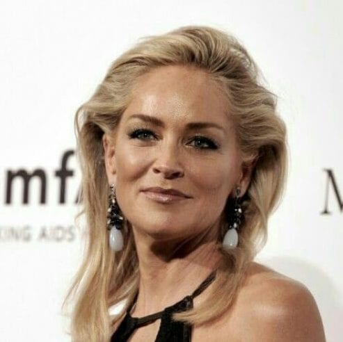sharon stone best hairstyles for women over 50