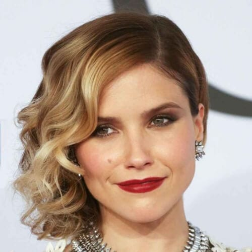 Sophia Bush short ombre hair